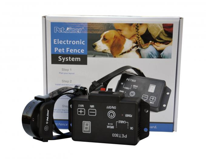 Waterproof Remote Pet Training Collar , In-ground Wireless Pet Electronic Fence
