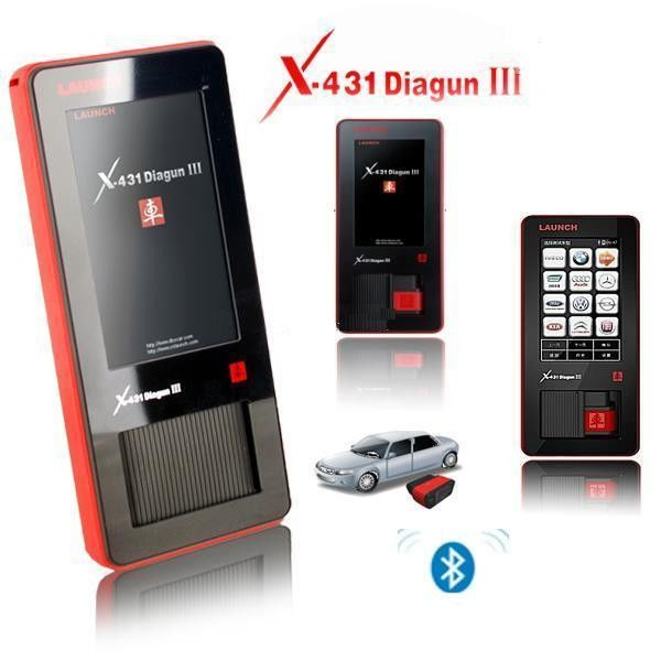 Original Launch X431 Scanner X-431 DIAGUN III Diagnostic Tool Globle Update Online