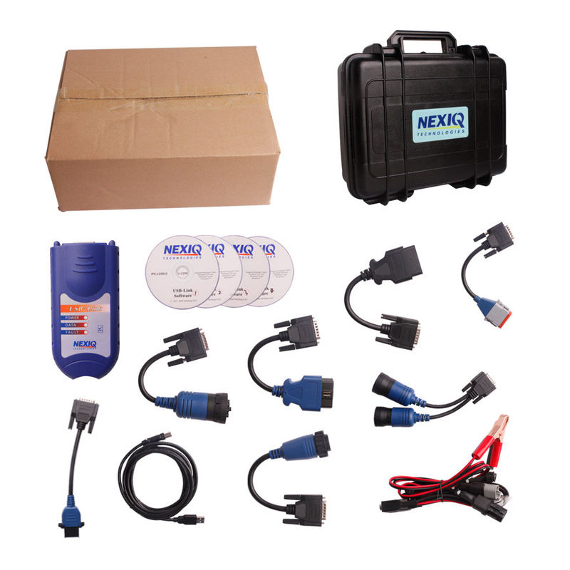 NEXIQ 125032 USB Link Truck Diagnostic Tool For Light / Medium Duty Trucks
