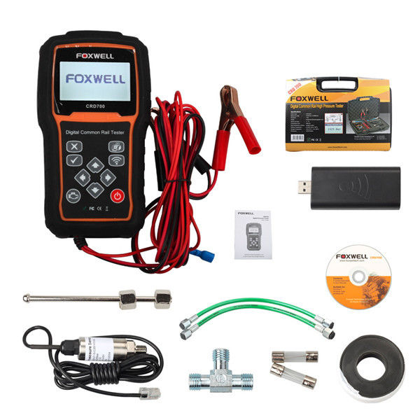 Foxwell CRD700 Auto Diagnostic Equipment Digital Common Rail High Pressure Tester